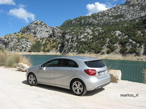 Mercedes A200d, Sixt PMI