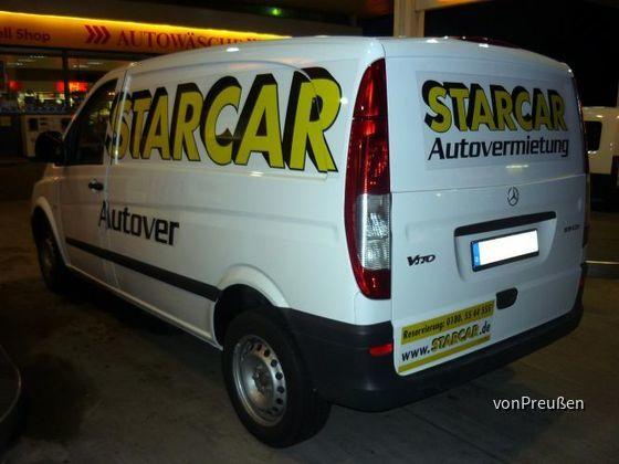 Starcar Gruppe 2 Mercedes Benz Vito 109 CDI