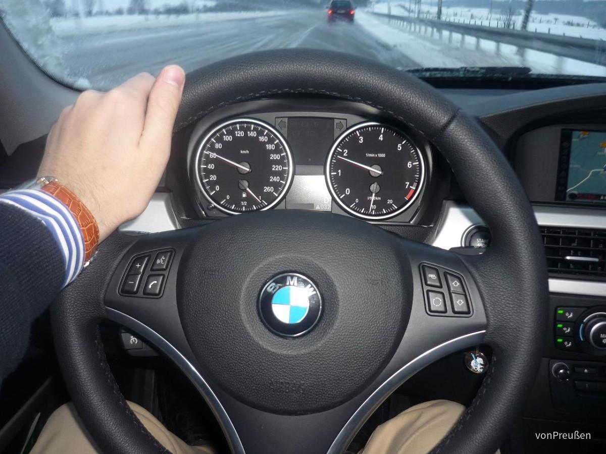 Europcar FDAR: BMW 320iA