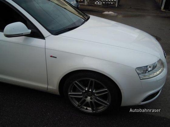 Audi A6 3.0 TDI Avant Weiss S-Line SIXT