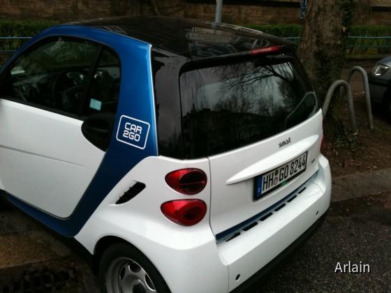 Smart fortwo mhd   Car2Go Hamburg