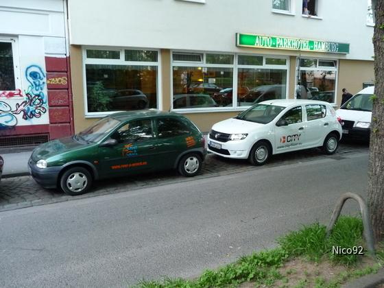Opel Corsa B / Dacia Sandero