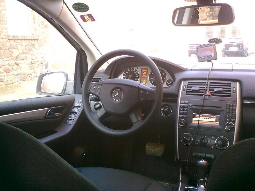 Mercedes B 180 Automatik von Europcar (IVAR)