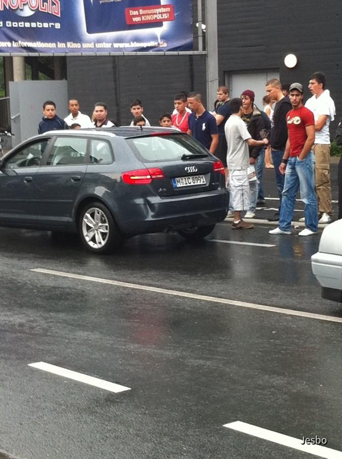 Audi A3 Sixt Auffahrunfall