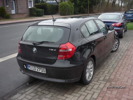 Sixt CPMR BMW 116d
