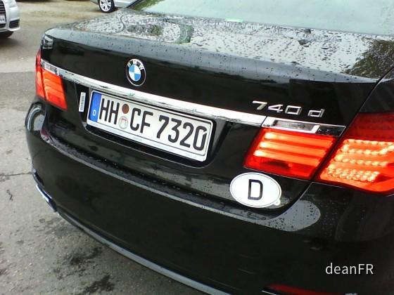 BMW 740d Europcar