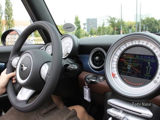 Mini Cooper Cabrio von Sixt