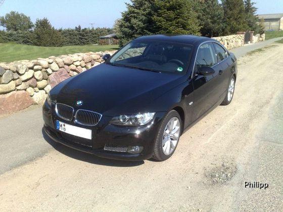 BMW 335d Coupé von Sixt