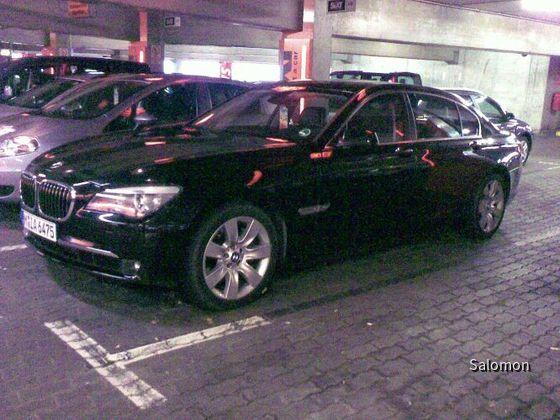 BMW 760Li Sixt