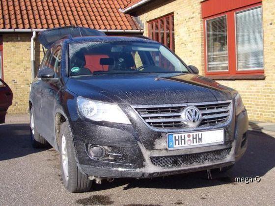 VW Tiguan Europcar SFMR mit Frontantrieb!