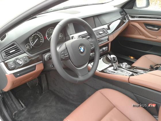 BMW 520dA Touring, Leder Dakota Zimtbraun