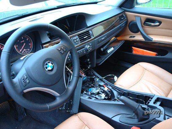 BMW 335d von Sixt (nach Einbruch)