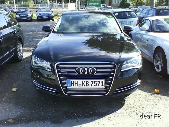 Audi A8 Europcar