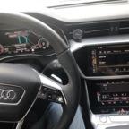 Herbstlicher Audi A6 50 TDI