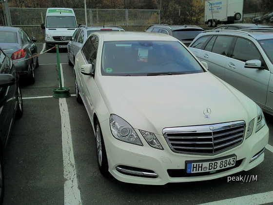 E200 Europcar Würzburg 11.11.