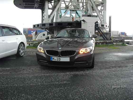 BMW Z4 3.0 i Sixt Hamburg Reeperbahn