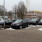 BMW 520d, VW Golf Plus & VW Touran