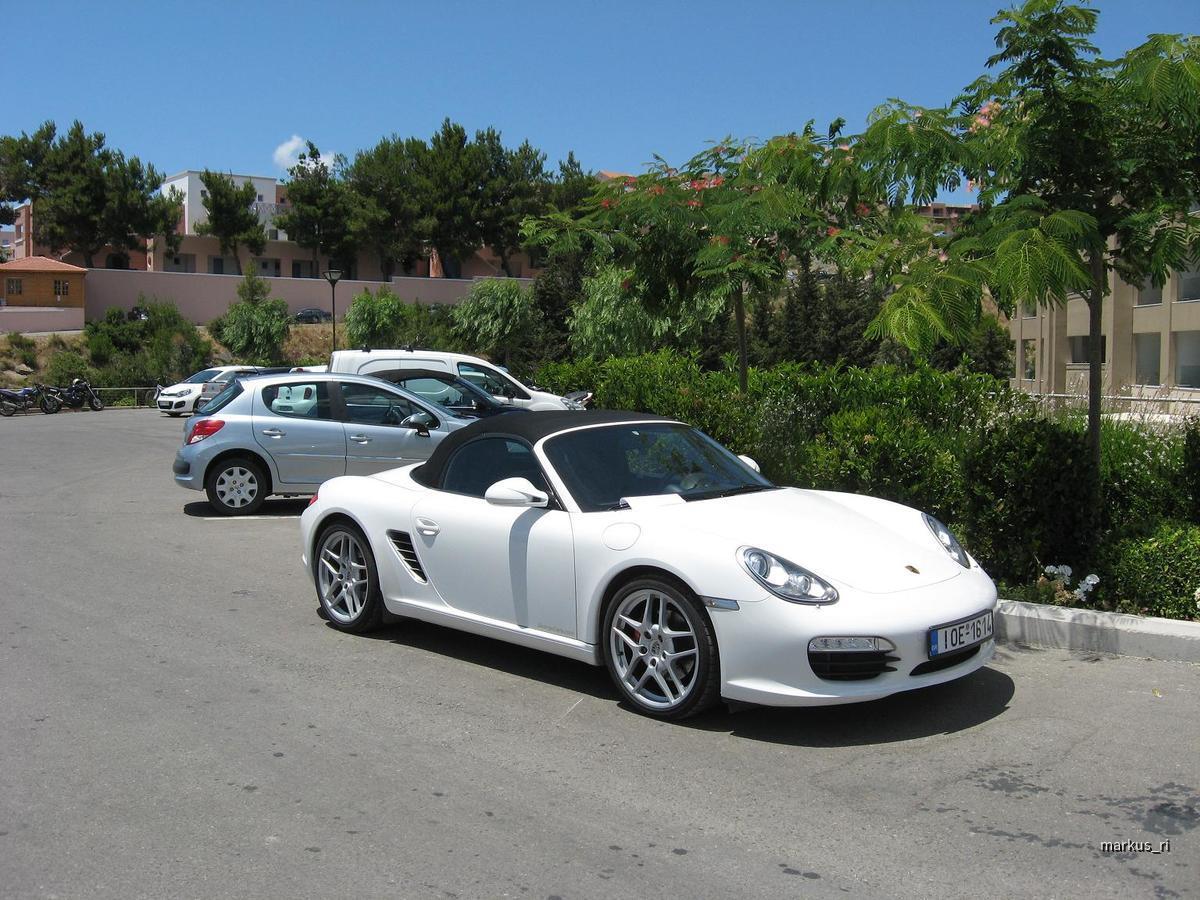 Porsche Boxster S PDK, Rhodos