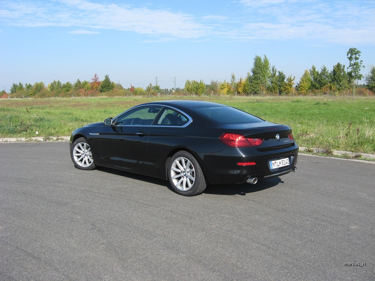 BMW 640d Coupe Sixt