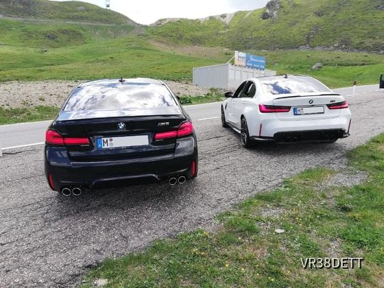 M5+M3 Tour durch Deutschland, Österreich und Italien