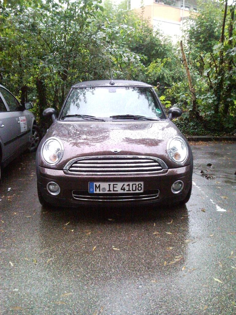 MINI One Sixt Ansbach 07.08.10