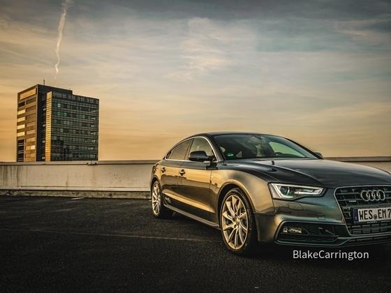 Neu in der Flotte: Audi A5 Sportback 3,0 TDI quattro S tronic (Stand: 17.04.15)