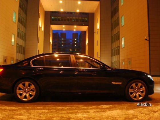 BMW 760Li von Sixt