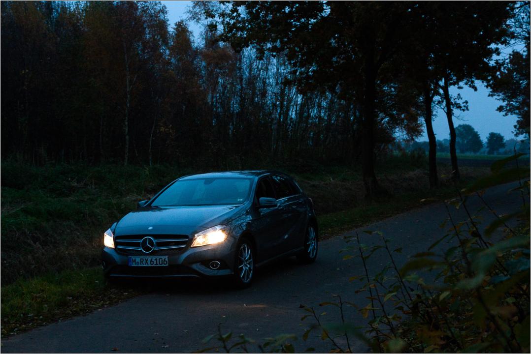 Mercedes Benz A180 BE MAN 122PS Herbst 2015