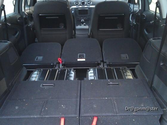 Ford Galaxy Innenraum