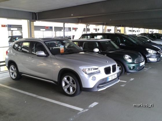 BMW X1 @ SIXT LEJ 14.07.2012