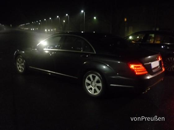 Sixt XDAR: Mercedes Benz S350 Lang Mopf