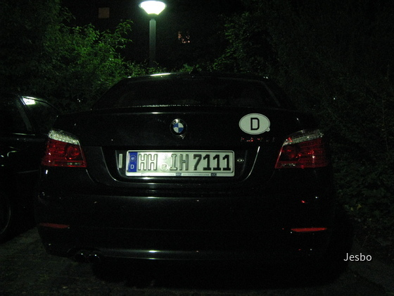 525i E60 Europcar