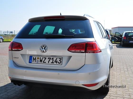 Heck des VW Golf VII Variant