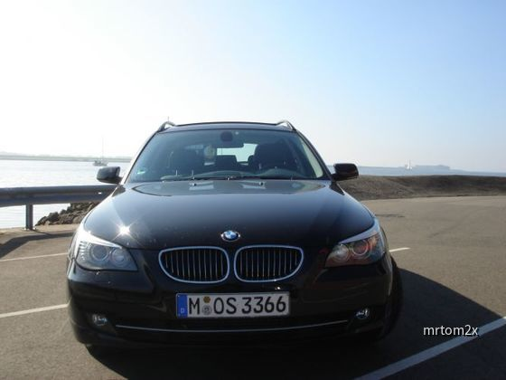 BMW 525DA Sixt am Ijsselmeer