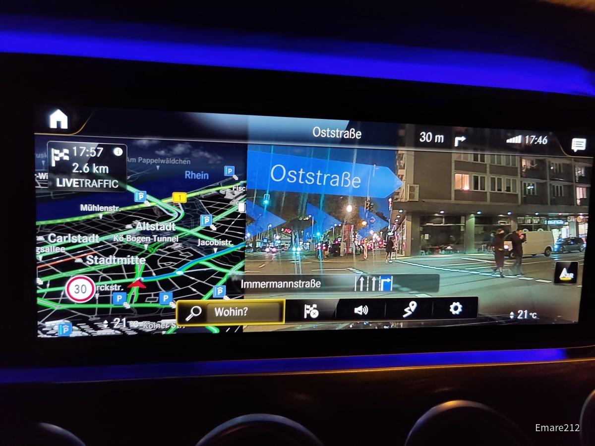 Mercedes-Benz E 220dT MoPf   Sixt Düsseldorf Zentrum/HBF