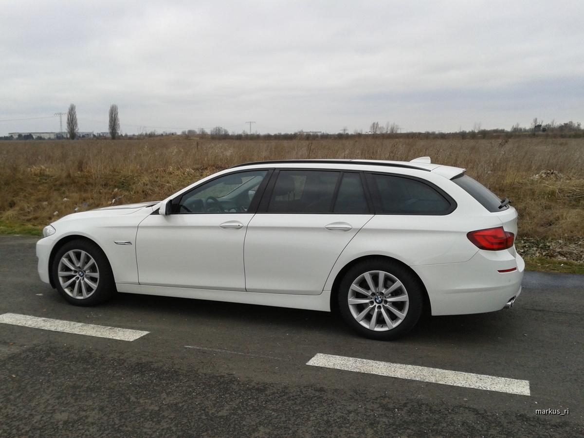 BMW 520dA Touring, Alpinweiss 3