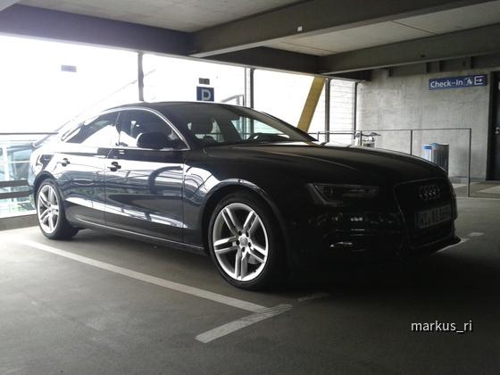 Audi A5 3.0 TDI (204 PS) @ AVIS LEJ 14.07.2012