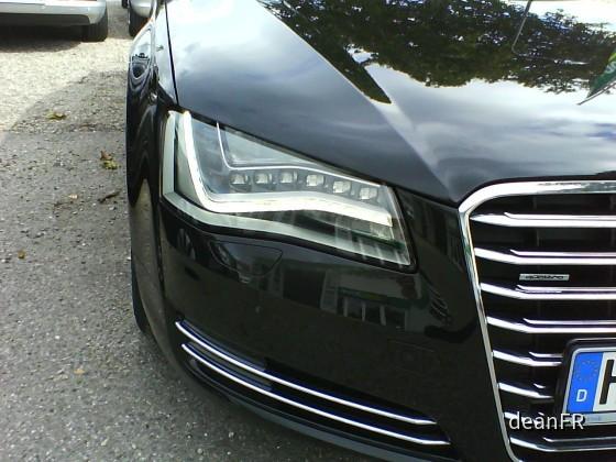 Audi A8 Europcar LED