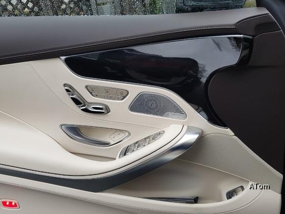 S 560 Coupé Sitz-Features