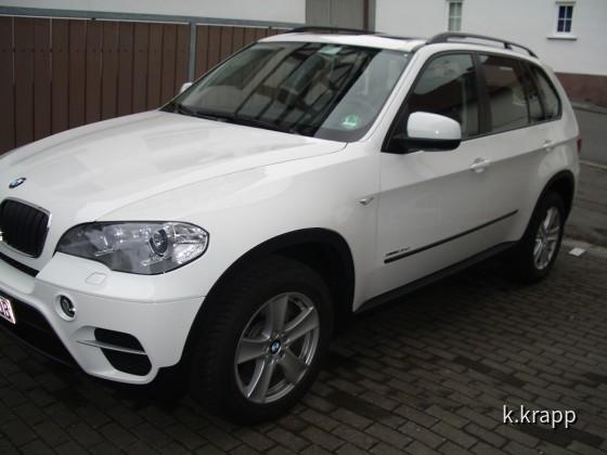 BMW X5 3.0D von Sixt