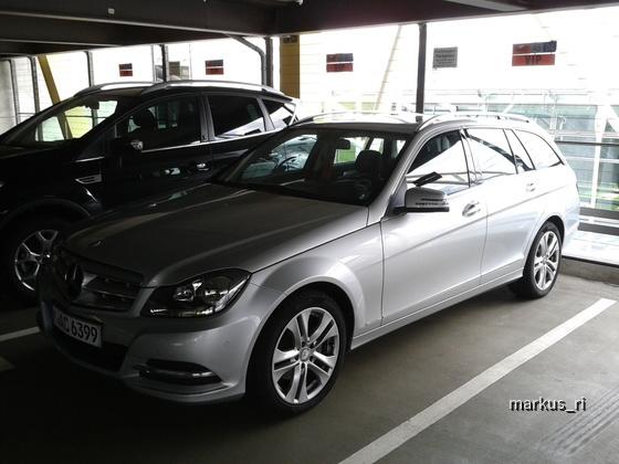 Mercedes C220T AUT @ SIXT LEJ 14.07.2012