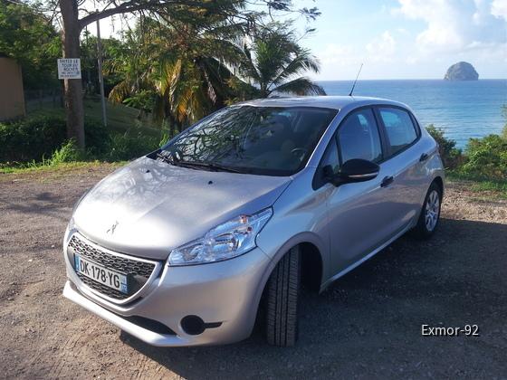 Peugot 208 Diesel Sixt Martinique