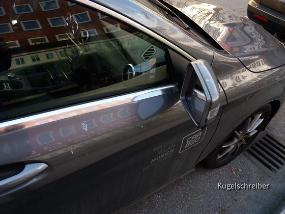 Mercedes CLA von Car2Go