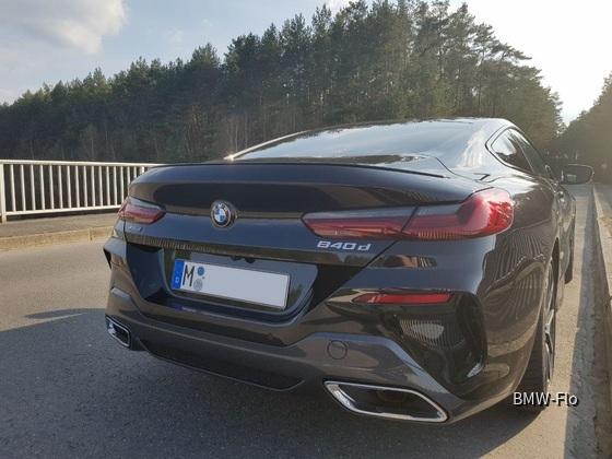 BMW 840d Coupé