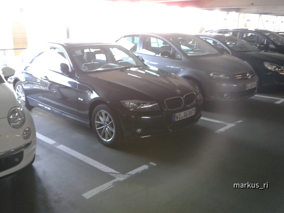 BMW 320d Automatik @ AVIS LEJ 05.11.