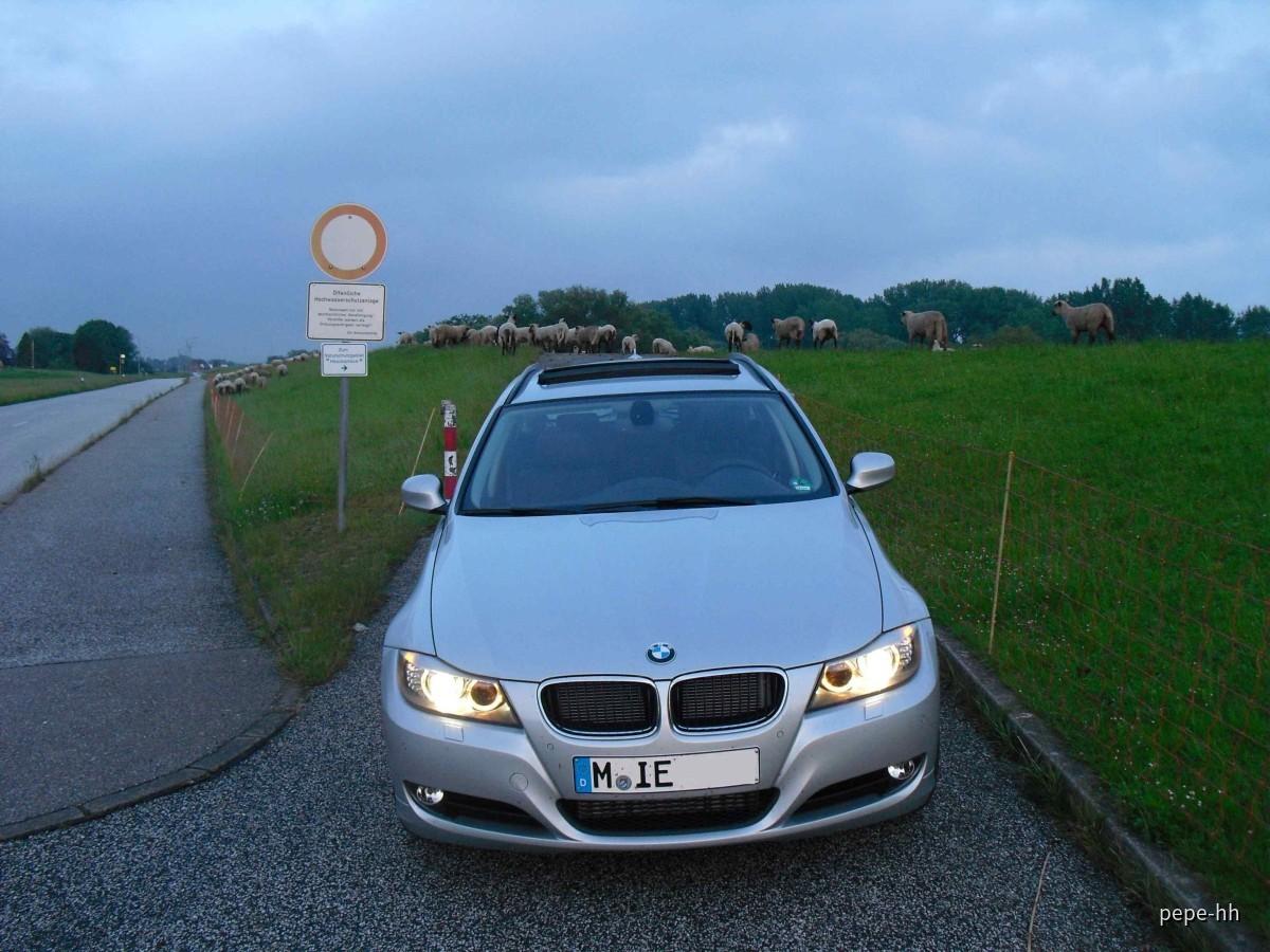 BMW 318d Touring, Sixt Hamburg Reeperbahn