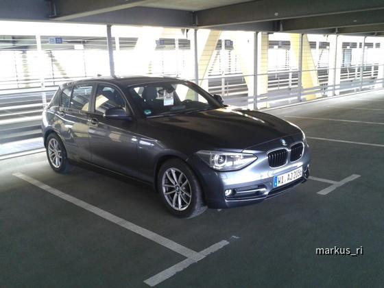 BMW 116dA F20 @ AVIS LEJ 17.07.2012