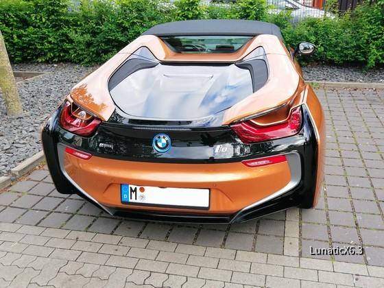 BMW i8 Roadster - Sixt