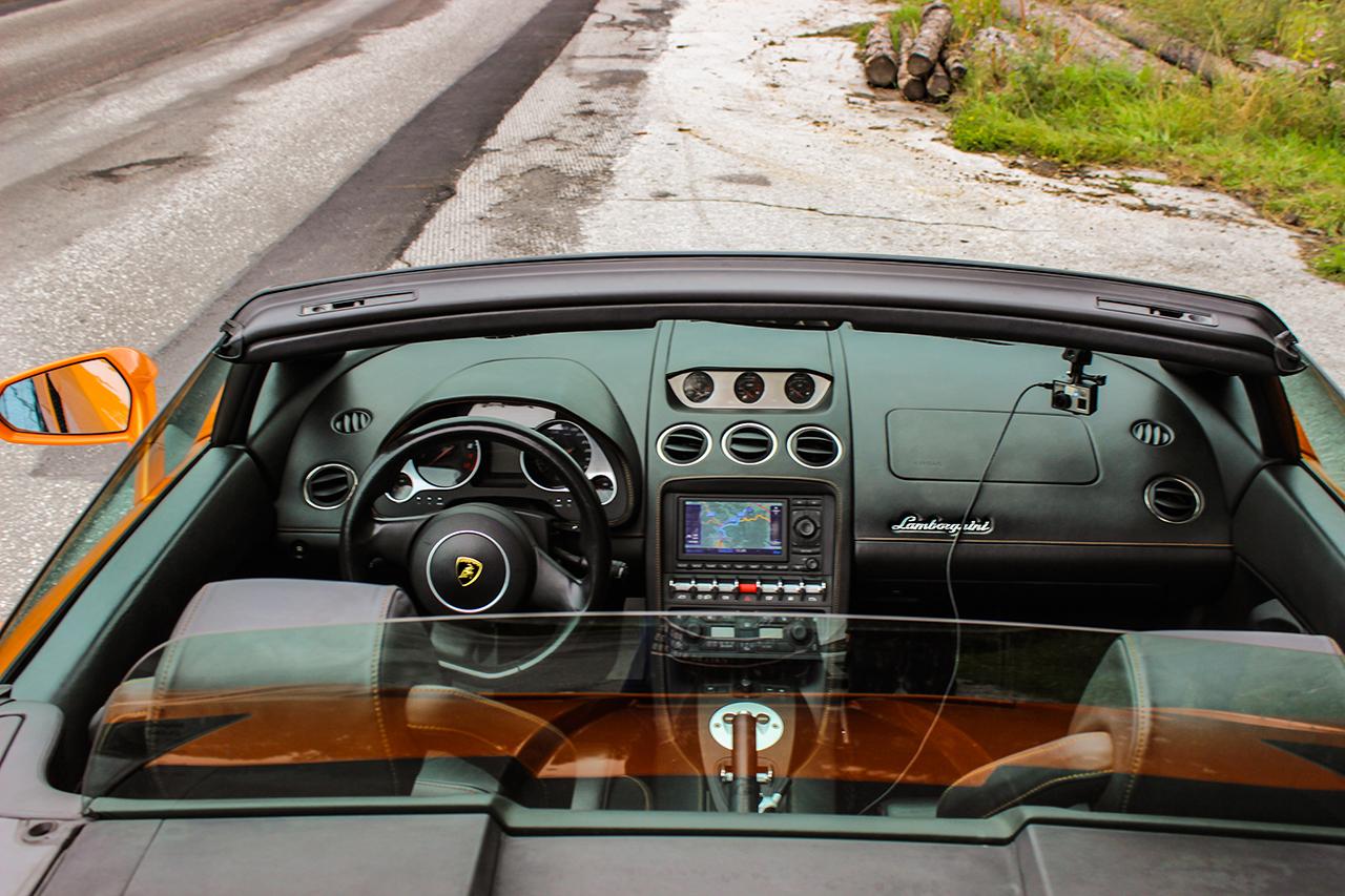 Lamborghini Gallardo LP 560-4 Spyder Innenansicht
