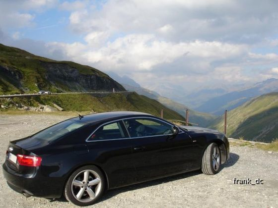 Audi A5, Furkapass